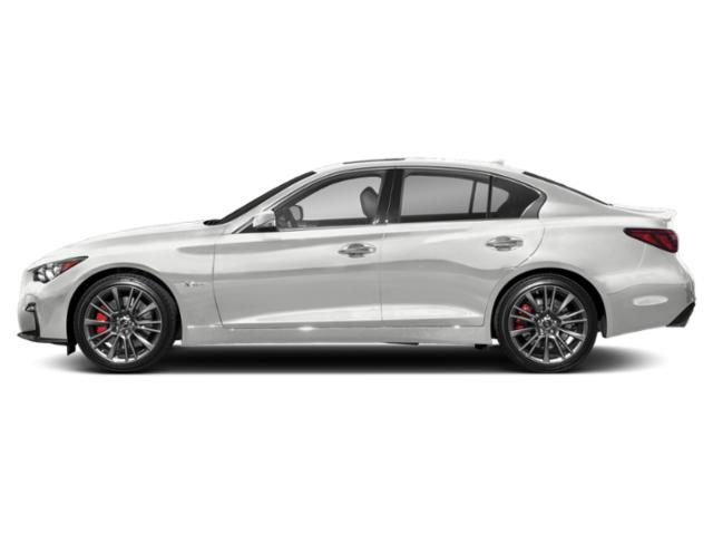 Pure White 2018 INFINITI Q50 Pictures Q50 Sedan 4D 3.0T Red Sport V6 Turbo photos side view