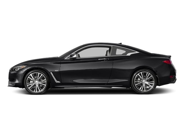 Midnight Black 2018 INFINITI Q60 Pictures Q60 3.0t LUXE RWD photos side view