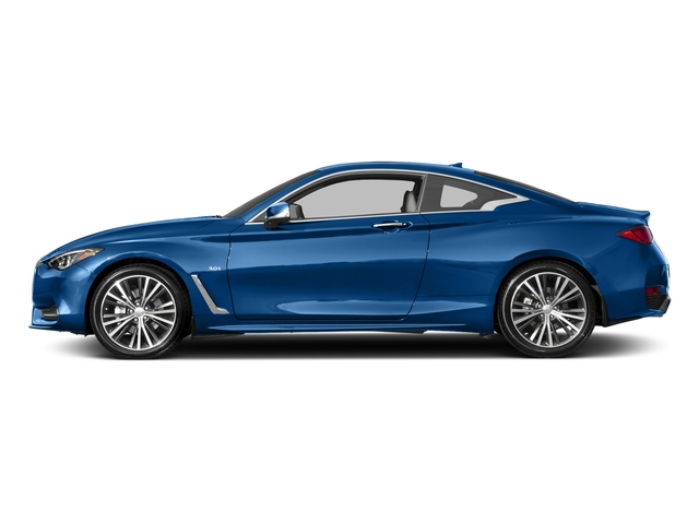 Iridium Blue 2018 INFINITI Q60 Pictures Q60 3.0t LUXE RWD photos side view