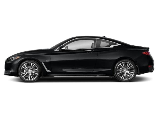 Midnight Black 2018 INFINITI Q60 Pictures Q60 Coupe 2D 3.0T Luxe photos side view