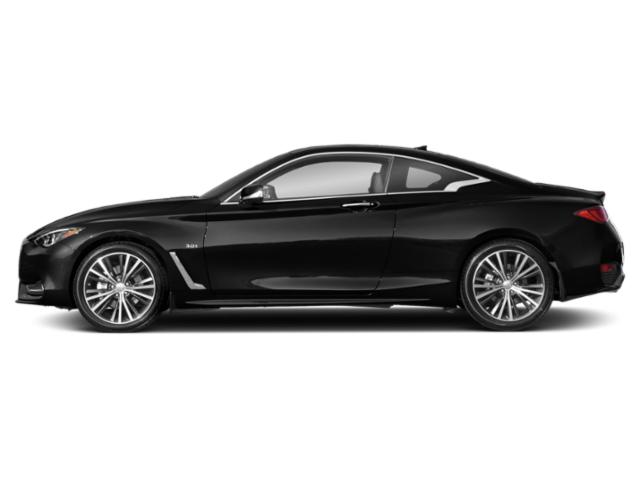 Black Obsidian 2018 INFINITI Q60 Pictures Q60 Coupe 2D 3.0T Luxe photos side view