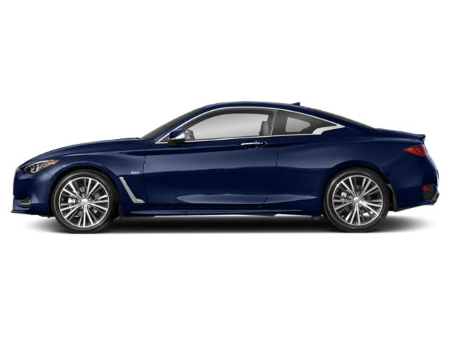 Iridium Blue 2018 INFINITI Q60 Pictures Q60 Coupe 2D 3.0T Luxe photos side view