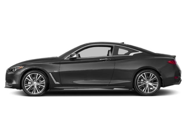 Graphite Shadow 2018 INFINITI Q60 Pictures Q60 2.0t LUXE AWD photos side view