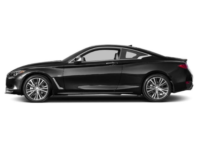 Black Obsidian 2018 INFINITI Q60 Pictures Q60 2.0t LUXE AWD photos side view
