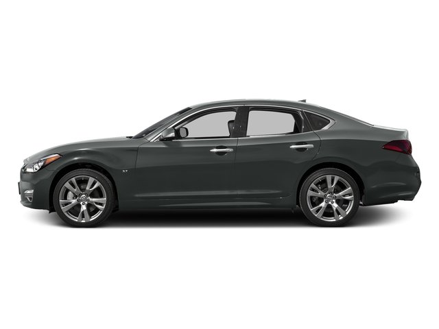 Graphite Shadow 2018 INFINITI Q70 Pictures Q70 3.7 LUXE AWD photos side view