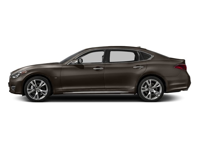 Chestnut Bronze 2018 INFINITI Q70L Pictures Q70L Sedan 4D LWB AWD V6 photos side view
