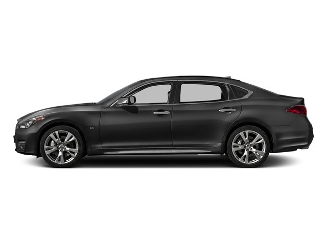 Graphite Shadow 2018 INFINITI Q70L Pictures Q70L 3.7 LUXE AWD photos side view