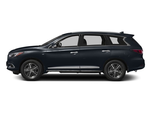 Hermosa Blue 2018 INFINITI QX60 Pictures QX60 AWD photos side view