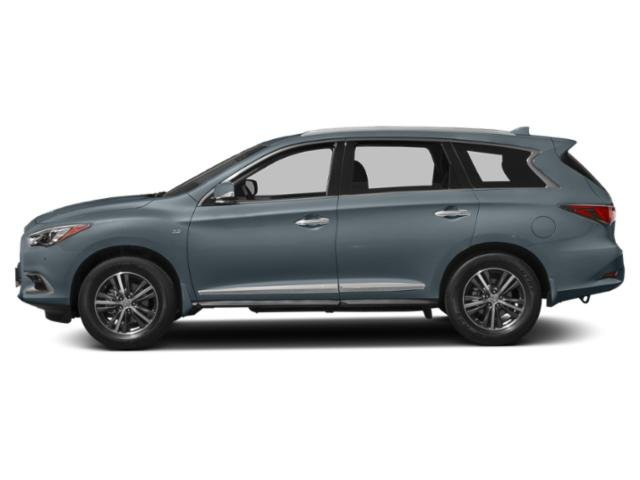 Hagane Blue 2018 INFINITI QX60 Pictures QX60 AWD photos side view