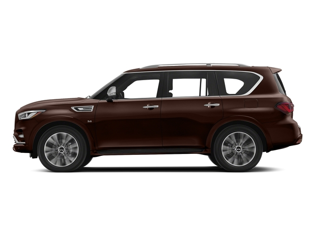 Mocha Almond 2018 INFINITI QX80 Pictures QX80 AWD photos side view