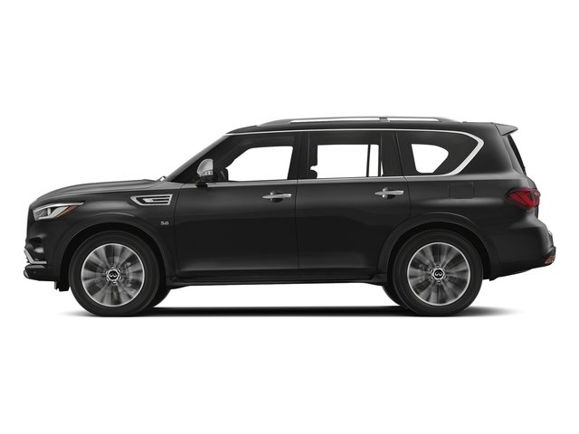 Graphite Shadow 2018 INFINITI QX80 Pictures QX80 AWD photos side view