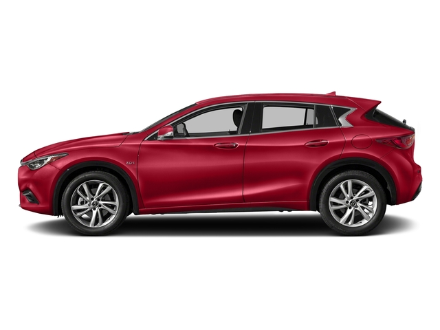 Magnetic Red 2018 INFINITI QX30 Pictures QX30 Premium FWD photos side view
