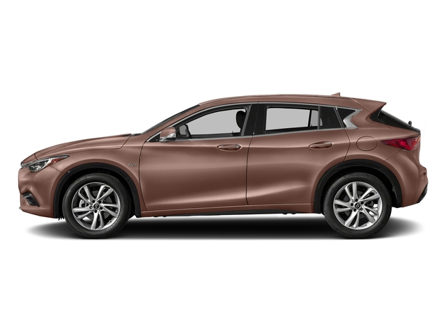 Liquid Copper 2018 INFINITI QX30 Pictures QX30 Premium FWD photos side view