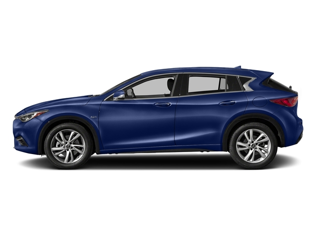 Ink Blue 2018 INFINITI QX30 Pictures QX30 Premium FWD photos side view