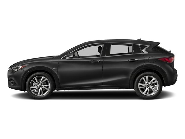 Pearlescent Black 2018 INFINITI QX30 Pictures QX30 2018.5 ESSENTIAL AWD photos side view