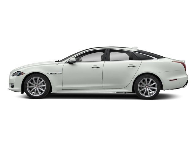 Fuji White 2018 Jaguar XJ Pictures XJ XJ Supercharged RWD photos side view