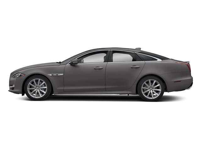 Corris Grey Metallic 2018 Jaguar XJ Pictures XJ XJ Supercharged RWD photos side view