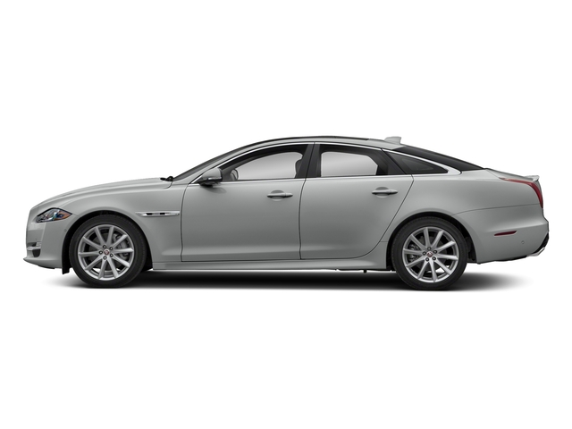 Indus Silver Metallic 2018 Jaguar XJ Pictures XJ XJ Supercharged RWD photos side view