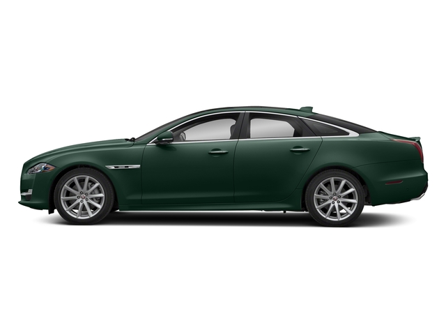 British Racing Green Metallic 2018 Jaguar XJ Pictures XJ XJ Supercharged RWD photos side view
