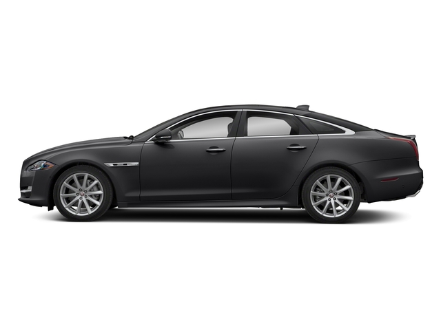 Carpathian Grey Premium Metallic 2018 Jaguar XJ Pictures XJ XJ Supercharged RWD photos side view