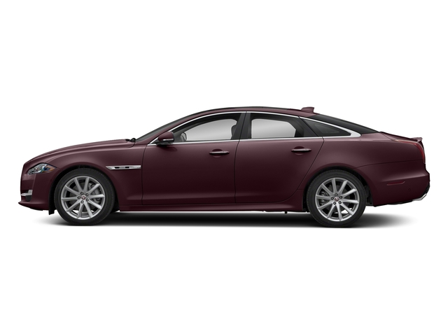 Rossello Red Metallic 2018 Jaguar XJ Pictures XJ XJ Supercharged RWD photos side view
