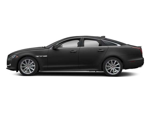 Farallon Black Premium Metallic 2018 Jaguar XJ Pictures XJ XJ Supercharged RWD photos side view