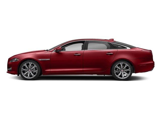 Firenze Red Metallic 2018 Jaguar XJ Pictures XJ XJL Portfolio RWD photos side view