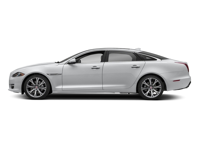 Yulong White Metallic 2018 Jaguar XJ Pictures XJ XJL Portfolio RWD photos side view