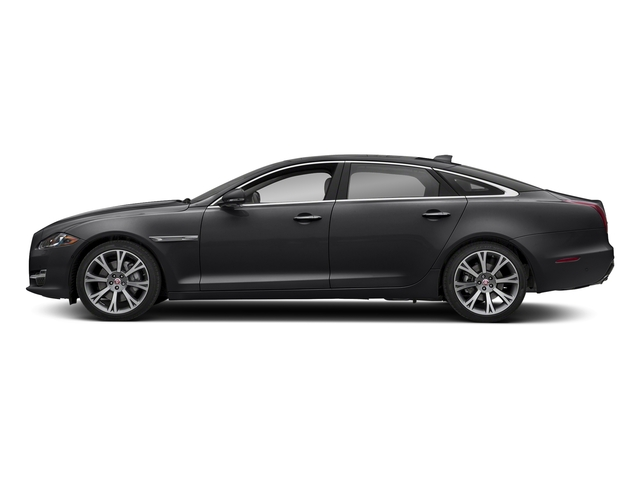 Carpathian Grey Premium Metallic 2018 Jaguar XJ Pictures XJ XJL Portfolio RWD photos side view