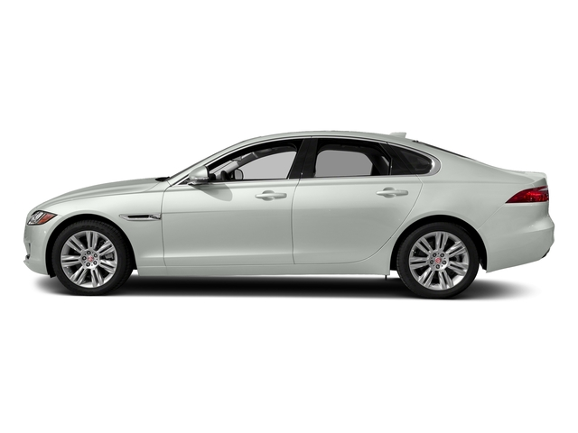 Fuji White 2018 Jaguar XF Pictures XF Sedan 25t Premium AWD photos side view