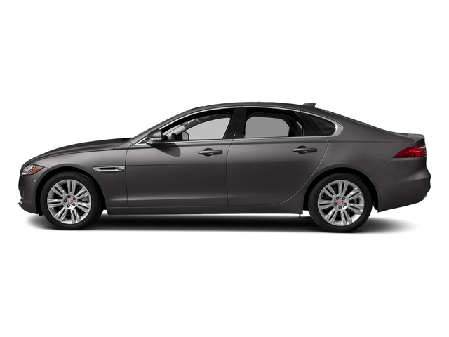 Corris Grey Metallic 2018 Jaguar XF Pictures XF Sedan 25t Premium AWD photos side view