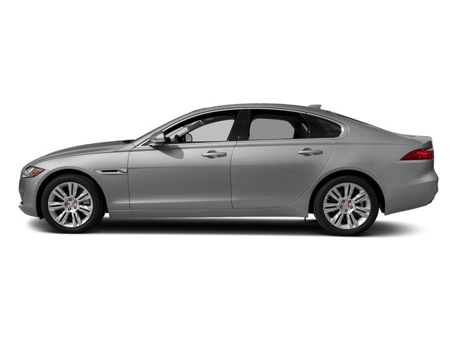 Indus Silver Metallic 2018 Jaguar XF Pictures XF Sedan 30t Premium RWD photos side view