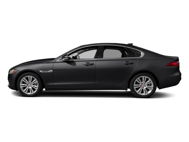 Narvik Black 2018 Jaguar XF Pictures XF Sedan 25t Premium AWD photos side view