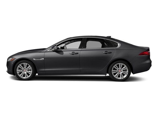 Carpathian Grey 2018 Jaguar XF Pictures XF Sedan 25t Premium AWD photos side view
