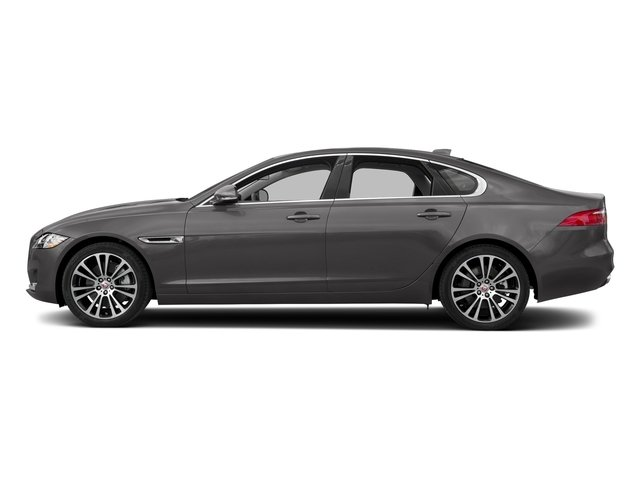 Corris Grey Metallic 2018 Jaguar XF Pictures XF Sedan 35t Prestige AWD *Ltd Avail* photos side view