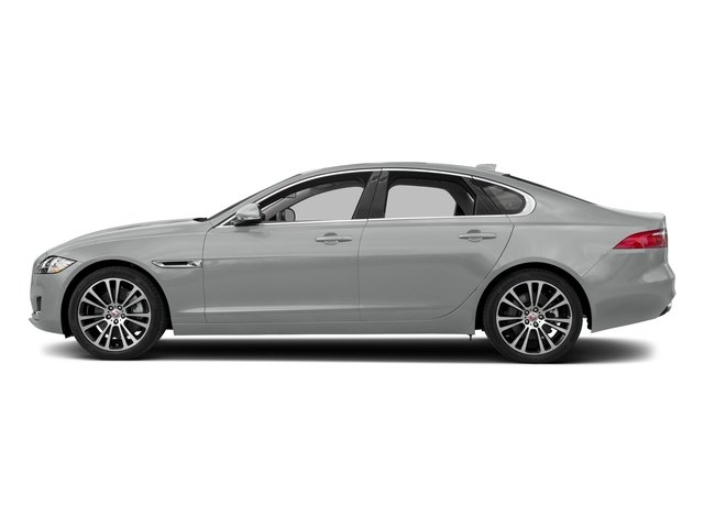 Indus Silver Metallic 2018 Jaguar XF Pictures XF Sedan 30t Prestige RWD photos side view
