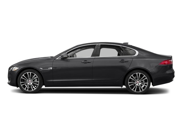 Narvik Black 2018 Jaguar XF Pictures XF Sedan 30t Prestige RWD photos side view