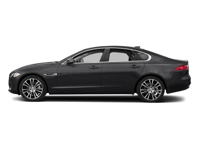 Narvik Black 2018 Jaguar XF Pictures XF Sedan 25t Prestige RWD photos side view
