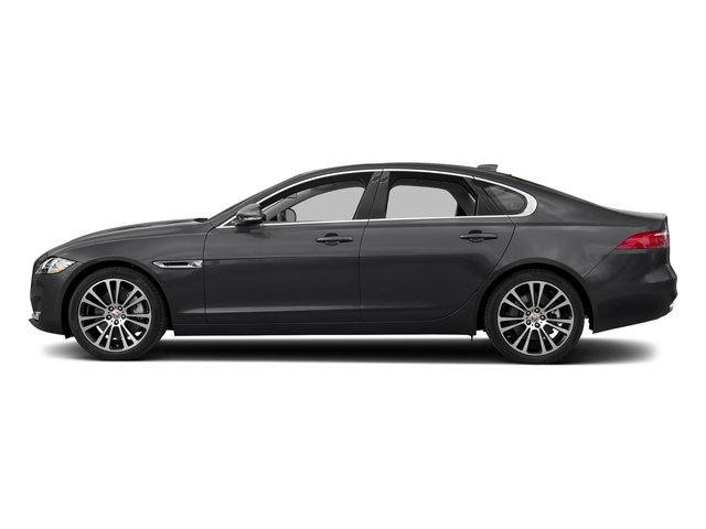 Carpathian Grey 2018 Jaguar XF Pictures XF Sedan 20d Prestige AWD photos side view