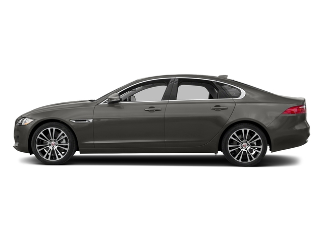 Silicon Silver 2018 Jaguar XF Pictures XF Sedan 30t Prestige RWD photos side view