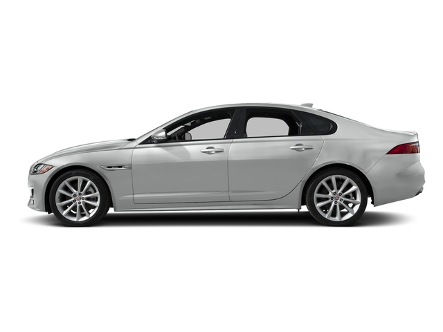 Indus Silver Metallic 2018 Jaguar XF Pictures XF Sedan 35t R-Sport AWD *Ltd Avail* photos side view