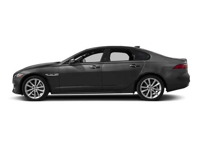 Narvik Black 2018 Jaguar XF Pictures XF Sedan 25t R-Sport RWD photos side view