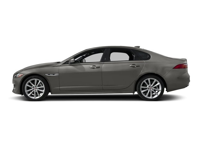 Silicon Silver 2018 Jaguar XF Pictures XF Sedan 4D 20d R-Sport photos side view