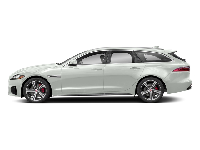 Fuji White 2018 Jaguar XF Pictures XF Sportbrake First Edition AWD photos side view
