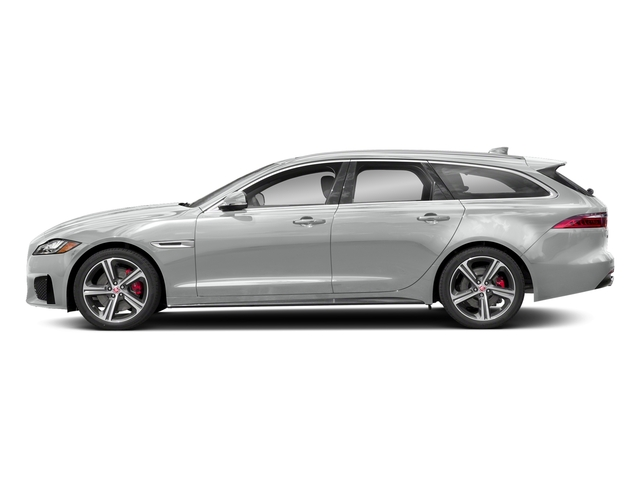Indus Silver Metallic 2018 Jaguar XF Pictures XF Sportbrake First Edition AWD photos side view
