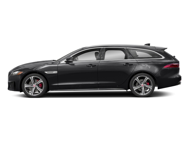 Narvik Black 2018 Jaguar XF Pictures XF Sportbrake First Edition AWD photos side view