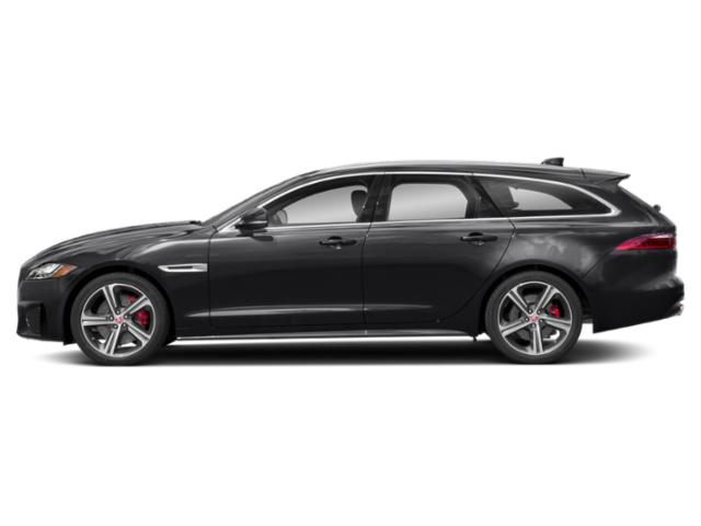 Narvik Black 2018 Jaguar XF Pictures XF Wgn 4D Sportbrake First Edition AWD photos side view