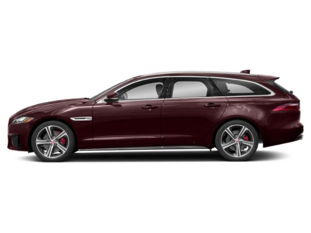 Rossello Red Metallic 2018 Jaguar XF Pictures XF Wgn 4D Sportbrake First Edition AWD photos side view
