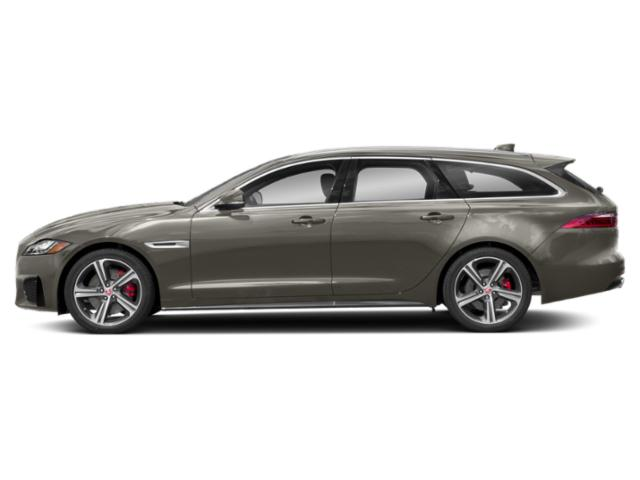 Silicon Silver 2018 Jaguar XF Pictures XF Wgn 4D Sportbrake First Edition AWD photos side view