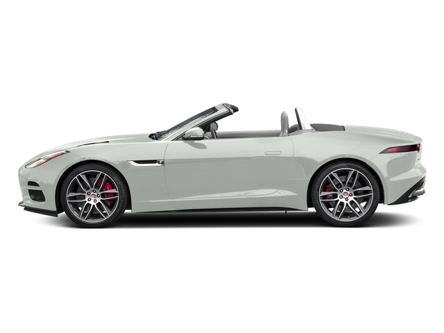 Fuji White 2018 Jaguar F-TYPE Pictures F-TYPE Convertible Auto 380HP AWD photos side view